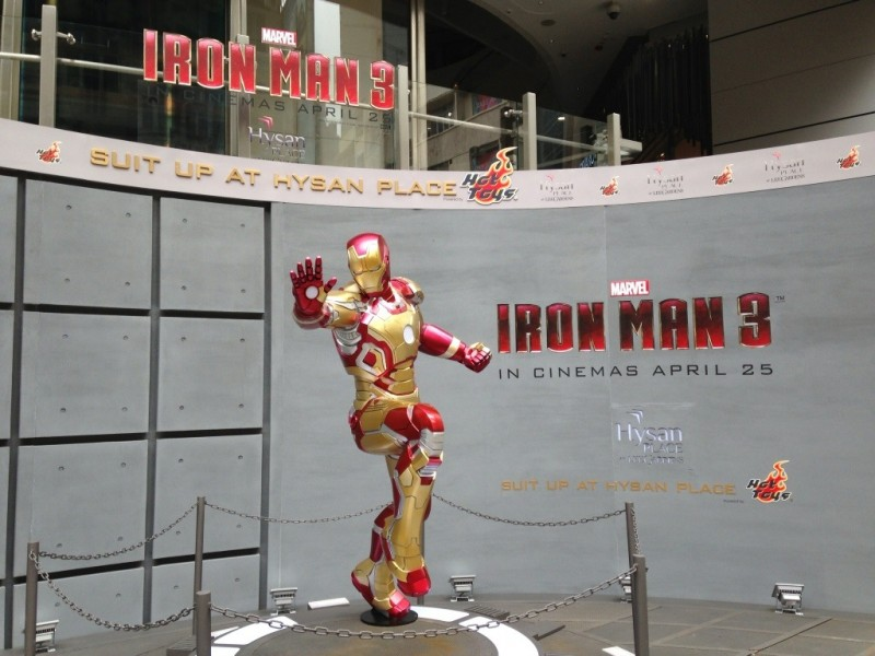 Iron Man at Hysan Place